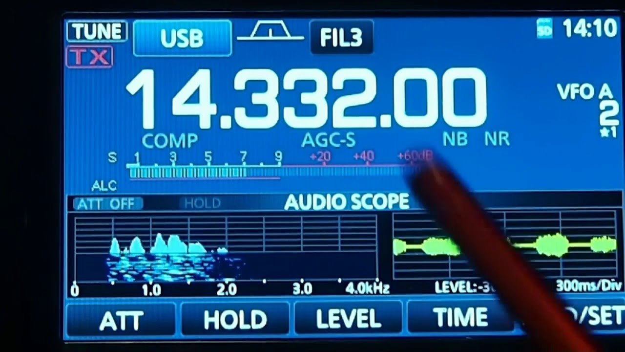 Icom 7300 MNF ANF IF Filter Works On Interference!