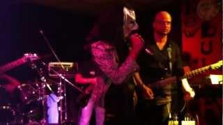 "Shadows Of Steel ""heroes"" Live In Genoa @ New Bulldog Pub (02/06/2012)"