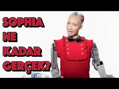 Robot Sophia Ne Kadar Gerçek? (Türkçe)