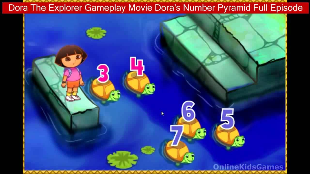 Dora The Explorer Gameplay Movie Dora S Number Pyramid Full Episode