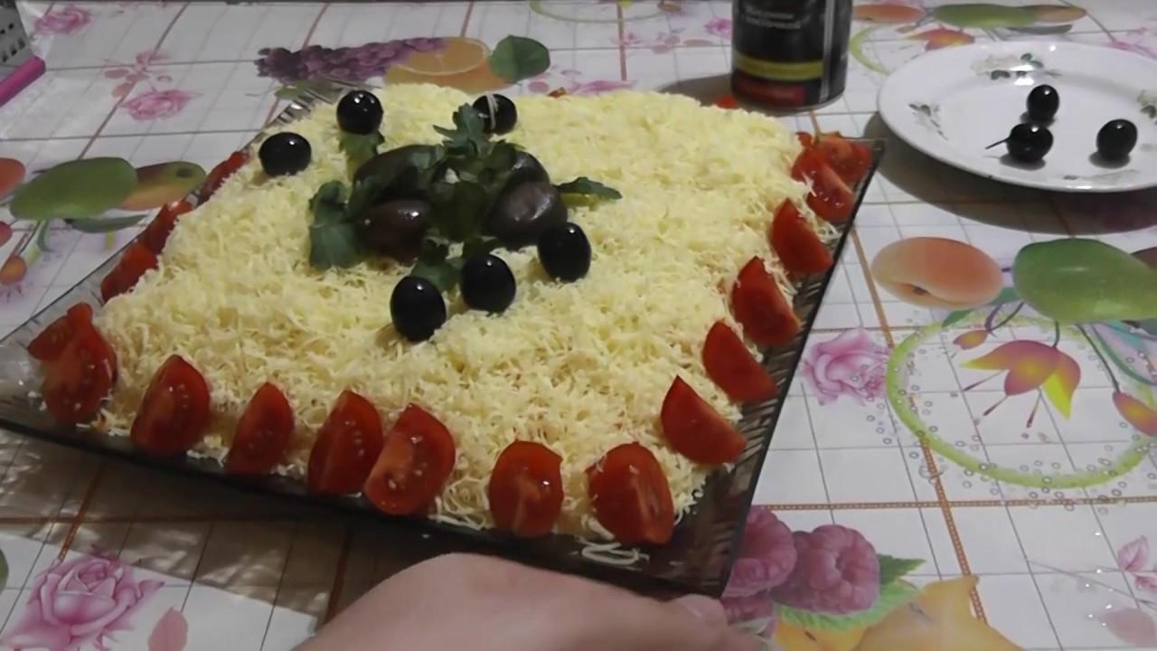 Русская красавица салат простой рецепт