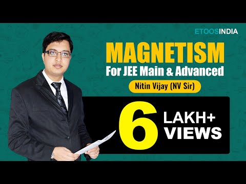 Magnetism of Physics for IIT-JEE Main by Nitin Vijay (NV) Sir
