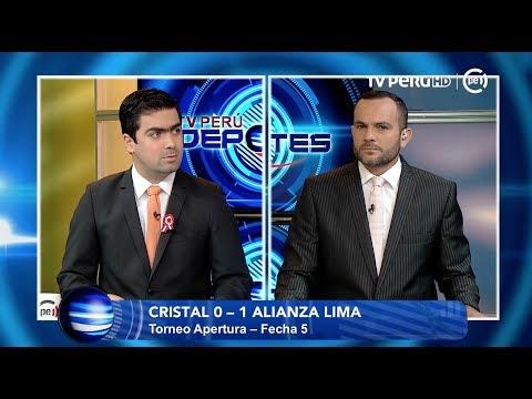 TV PERÚ DEPORTES - Se dedico integro al Cristal-Alianza Lima - 19/07/2017