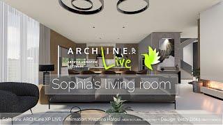 ARCHLine.XP LIVE 2021: Profi látványtervek és videók készítése 1. rész