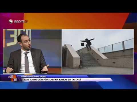 Türkiye Kaykay Federasyonu  ( Sports Tv Spor 360 Programı )