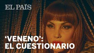 La VENENO por las ACTRICES de la SERIE: Un cuestionario sobre su VIDA
