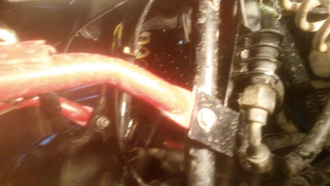 small resolution of atv winch install part 1