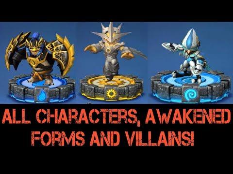 Skylanders Ring Of Heroes Tier List Best Heroes In The
