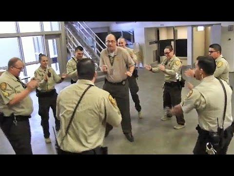 PCSD Corrections Bureau Running Man Challenge - YouTube