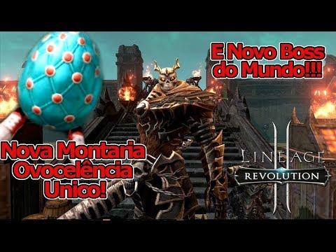 """Lineage 2 Revolution: Nova Montaria """" O OVO """", Boss Glilhotine & Eventos - Omega Play"""
