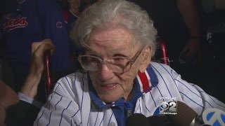 Cubs Fan, 101 Years Old, Witnesses A