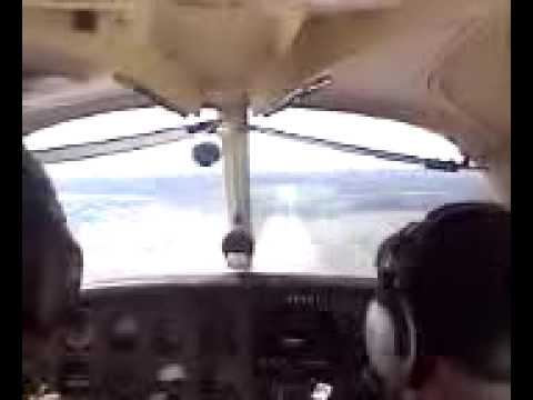 Landing at Griffiss