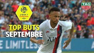 Top buts Ligue 1 Conforama - Septembre (saison 2019/2020)