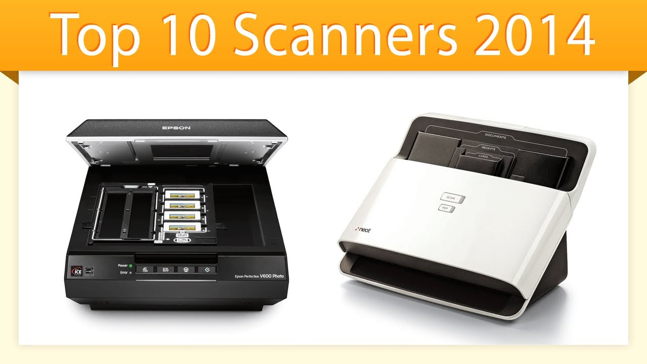 Top 10 Scanners 2014   Best Document Scanner Review