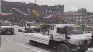 Misiles 9K38 Igla sobre plataformas de camiones Unimog, Armada de México.
