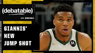 Should the rest of the league be scared of Giannis' new and improved jump shot? | (debatable)