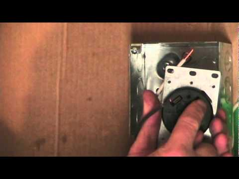 110 volt wiring diagram bull origami how to wire an rv receptacle youtube