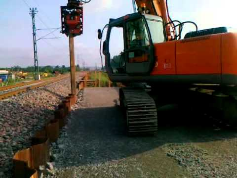 Movax Sheet Pile Driver