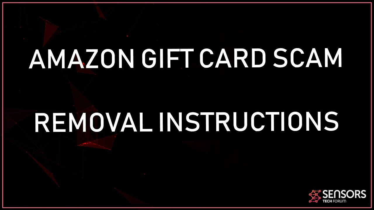 Amazon Car Scams >> 1000 Amazon Gift Card Scam Removal How To Get Rid Of It
