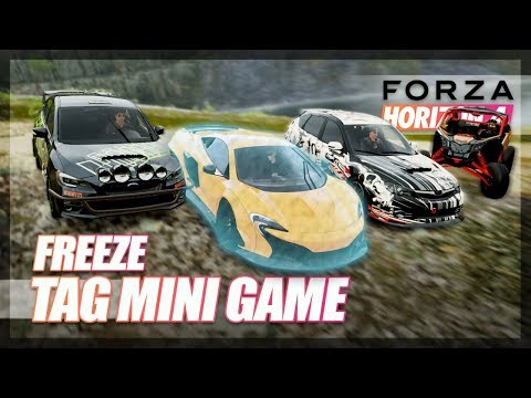 Forza Horizon 4 - FREEZE Tag Mini Game! thumbnail