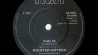 The Pointer Sisters - Dare Me (1985)