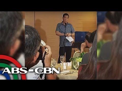 TV Patrol: Duterte, ibinunyag ang umano'y mga nagpopondo sa Maute