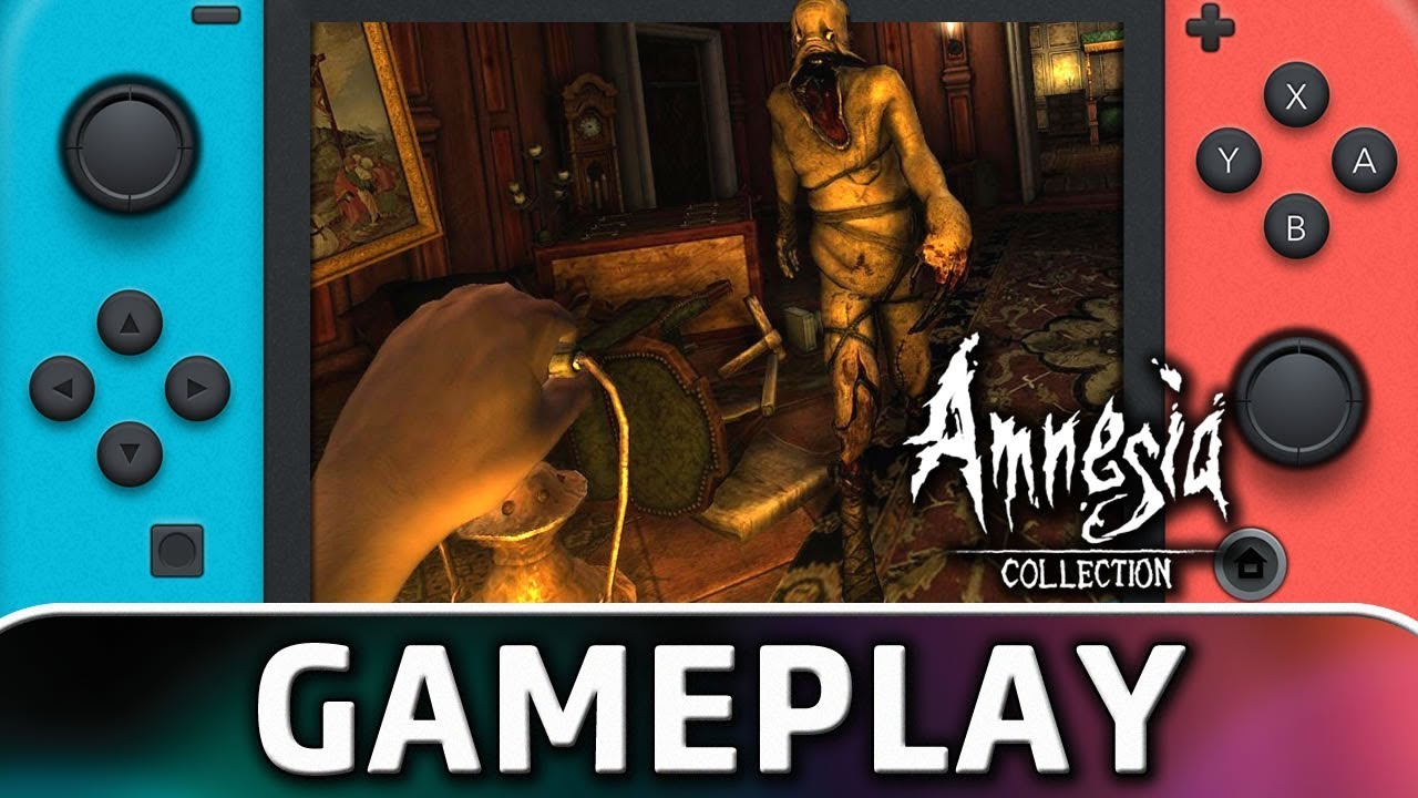 Amnesia: Collection | First 10 Minutes on Nintendo Switch