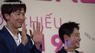 Lee Kwang Soo gặp gỡ dàn cast Running Man Việt: Trấn Thành, Trương Thế Vinh, Jun Phạm