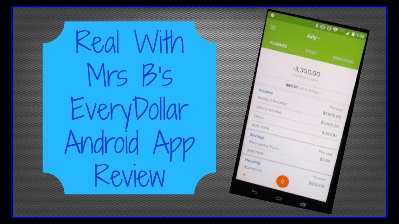 Everydollar Android Review