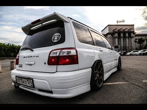 Форик на пневме! Subaru Forester