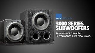 SVS 3000 Series Subwoofer Technology