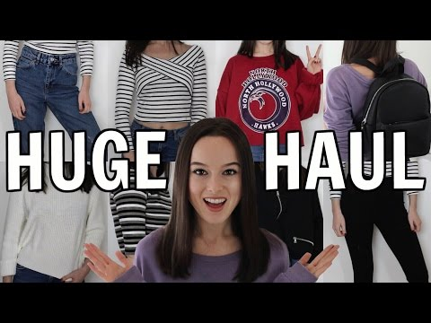 HUGE SPRING TRY-ON BIRTHDAY HAUL! Topshop, River Island, New Look + More!