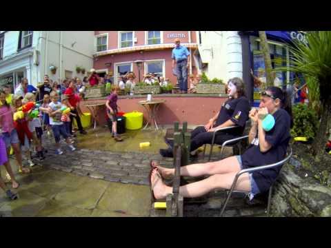 Ulverston Carnival Stocks 2014 - Wendy & Joanne