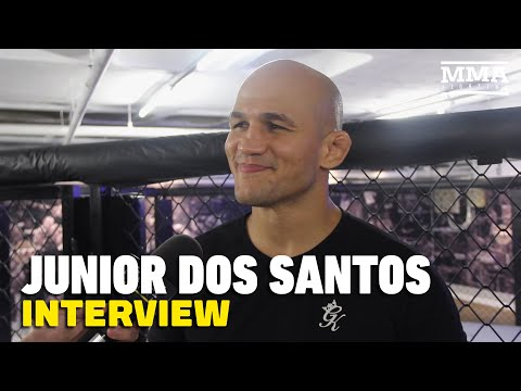 Junior dos Santos dismisses Francis Ngannou's 'lucky punch,' calls for rematch