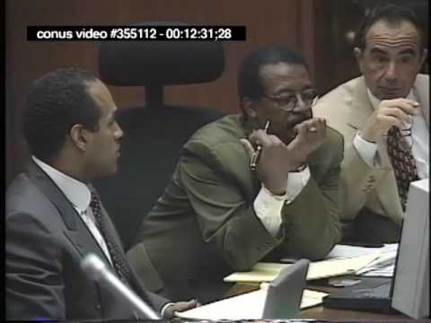 OJ Simpson Trial - September 26th, 1995 - Part 1