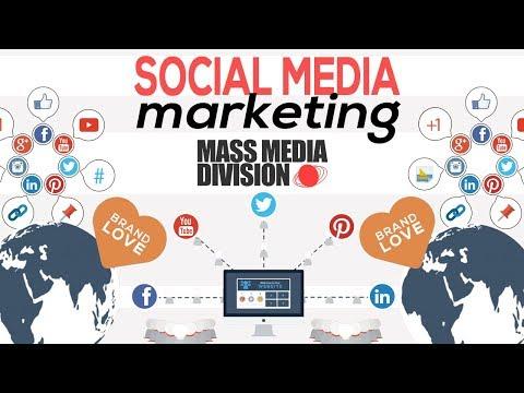 SOCIAL MEDIA MARKETING Explained By Mass Media Division 2018