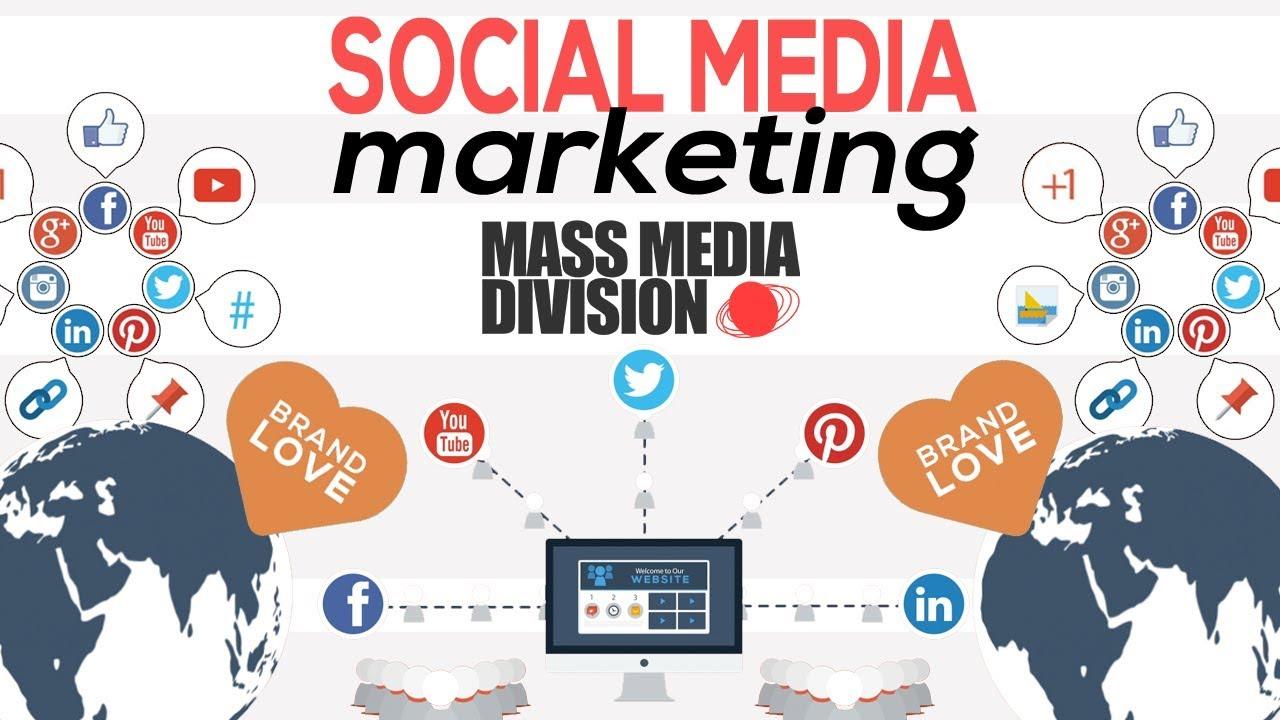 SOCIAL MEDIA MARKETING Explained by Mass Media Division 2018 - YouTube