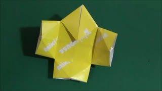 """日本の伝承折り紙。やっこさんの折り方です。Tradition origami of Japan. 「はかま」""""Hakama"""" http://youtu.be/oJnEC-s9IZI ▽他にもいろいろな折り紙の折り方を紹介し ..."""