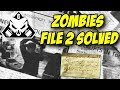 Rainbow Six Siege Zombie File #2 SOLVED! Easter Egg Mission Outbreak Operation Chimera
