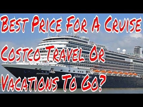 Cruise Ship Vacation Deals Costco Travel vs Vacations To Go Who is Cheaper? Plus Carnival Horizon