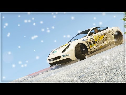 RACING IN THE SNOW!