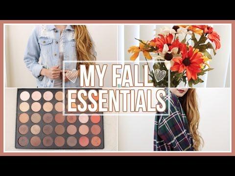 My Fall Essentials!   Beauty, Fashion, & Lifestyle
