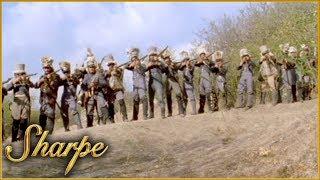 Brigadier General Loup Attacks Sharpe & His Men   Sharpe