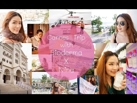 TRAVEL || Cannes Trip with Bioderma X Nina || NinaBeautyWorld