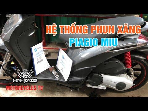 Hệ Thống Phun Xăng Piagio Miu | Motorcycles TV