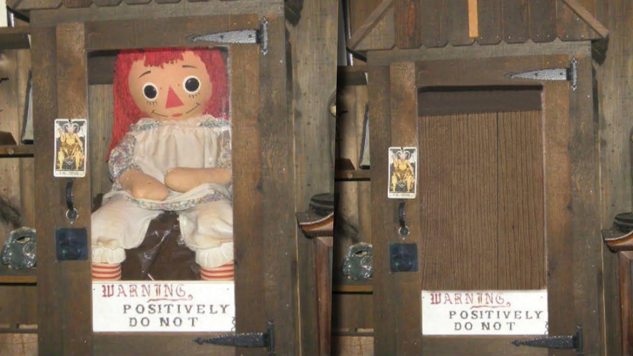 Annabelle escapó del museo de los Warren
