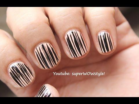 Short Nails Tutorial | Nail Art Design For Very Short Nails _superwowstyle - Short Nails Tutorial Nail Art Design For Very Short Nails