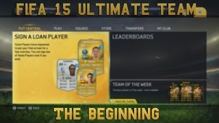 Fifa 15 Ultimate Team | The beginning - First Full Squad Builder, Tips and first look! Thumbnail