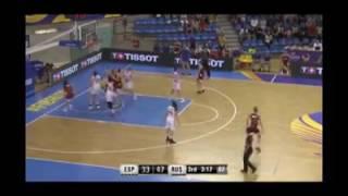 Incredible mistake in Women U19 World Championships game (Spain-Russia)