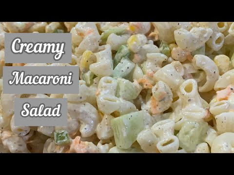 Macaroni Salad | Mayonnaise Salad Recipe | Mayo Macaroni Recipe |Mayonnaise Macaroni Pasta Recipe